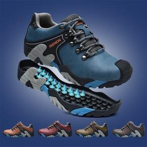 乐嘉途秋冬季加绒登山鞋男棉鞋运动跑步鞋防滑耐磨户外保暖徒步鞋