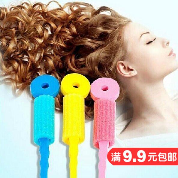 Корея звезда губка кудри палка спящая красавица губка волосы объем пена кудри устройство 3 только цена блюдо волосы набор инструментов