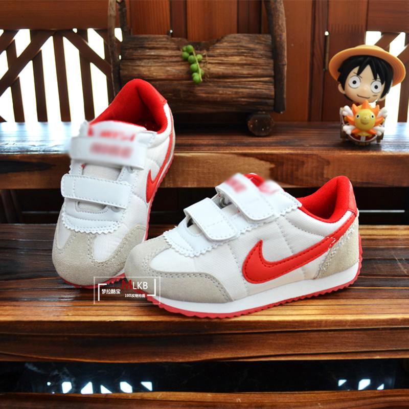 Весной и осенью приливы Гамп размер сетки кожа обувь Детская обувь Детская обувь мальчиков и девочек с родитель ребенок спортивная обувь