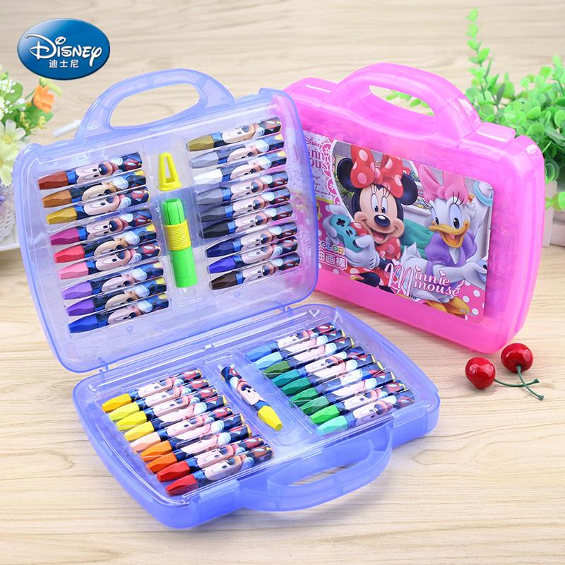 Disney детский сад ребенок живопись палка 36 цвет цвет цветной карандаш неядовитый живопись щетка подарок награда товары статья