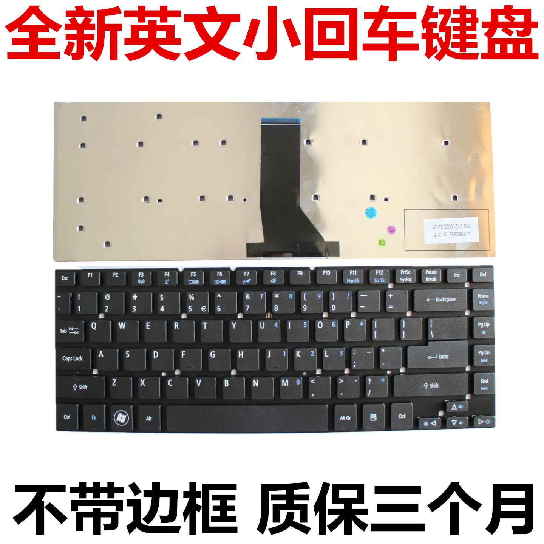 宏基4755G 3830TG 4830T 4755 V3-471 捷威 NV47H MS2317 键盘