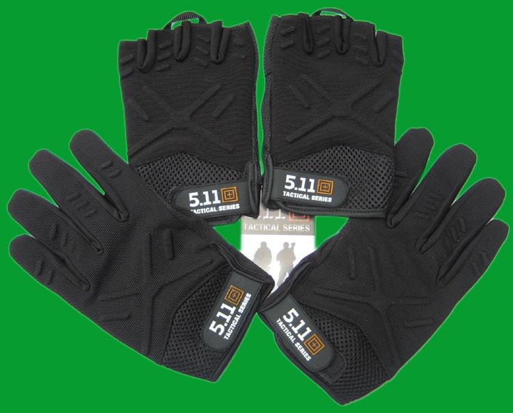 Новый 511 перчатки половина пальца / все фондовые индексы защищать модель перчатки быстросохнущие скольжение на открытом воздухе тактический верховая езда перчатки