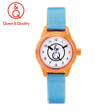 Citizen's Q&Q SmileSolar mini light candy girl students children watch