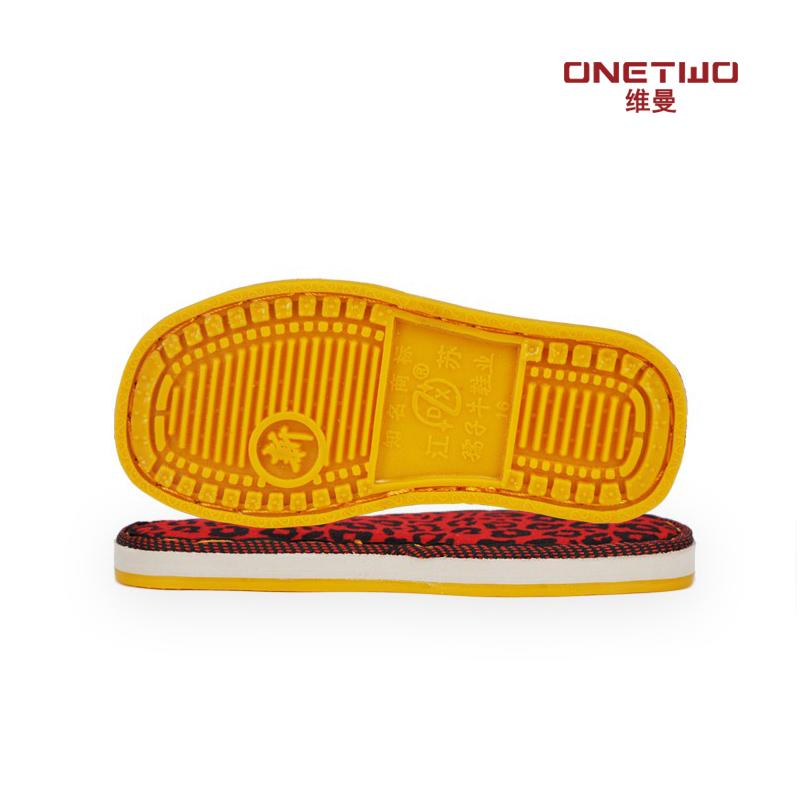 Размер человек ручной работы подключаться к интернету трейлер обувной противоскользящий износоустойчивый крюк обувной сухожилие шина подошва детей