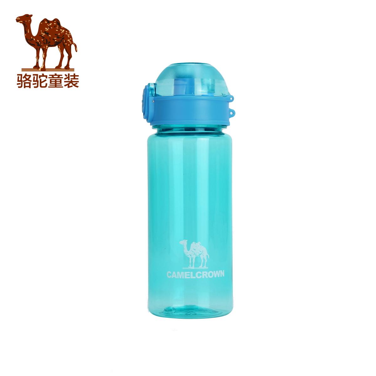 Небольшой верблюд ребятишки ребенок на открытом воздухе движение чашки мальчиков и девочек, портативный герметичный вода волосы чайник 400ML