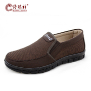 Old Beijing cloth shoes men's shoes new dad Long Ruixiang spring shoe breathable cover feet everyday casual shoe