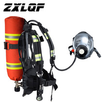 Fire certified positive pressure air respirator fire saving self-contained carbon fiber cylinder RHZKF6.8L 30