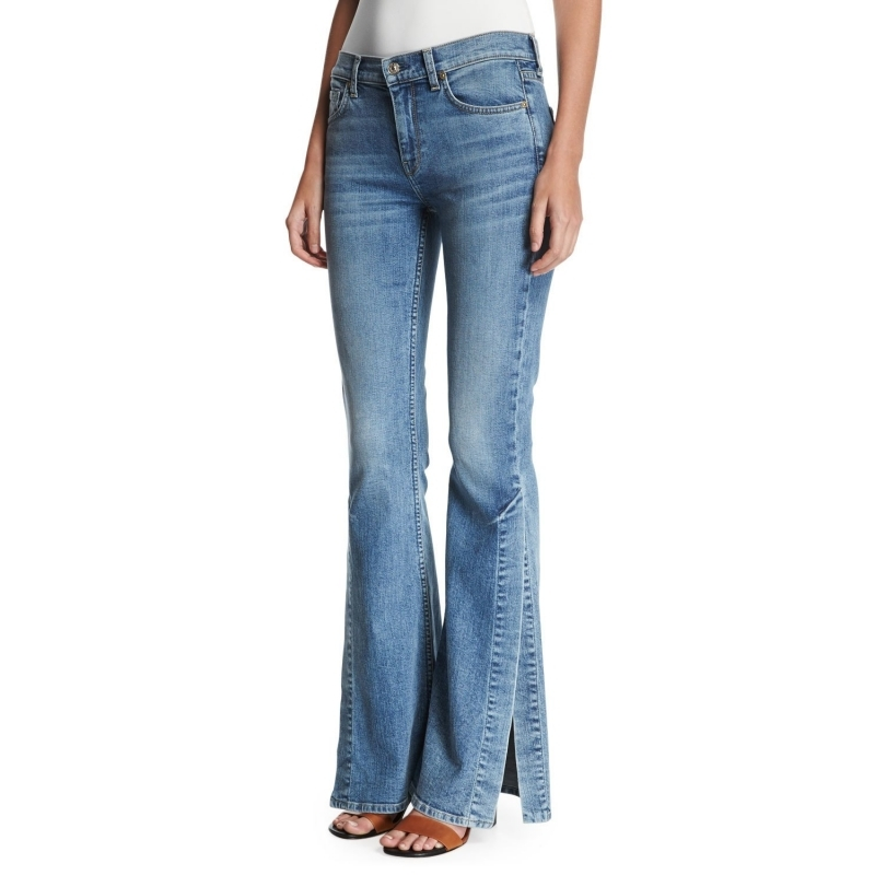 7 For All Mankind 女装 女式牛仔其他 Q02500828 INDIGO
