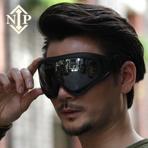 Nip Army fan Outdoor live CS field bulletproof tactical goggles motorcycle ride goggles Special Forces glasses