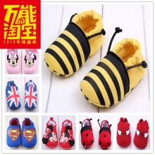 Summer baby out shoes 0 and 1 year old male and female baby soft cloth bottom 5 6 7 9 10 11 months toddler baby shoes