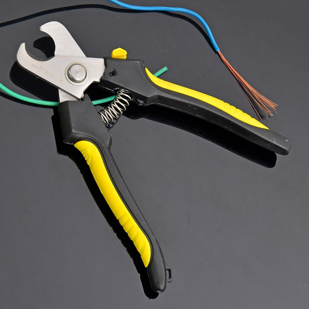 Провод электричества резца кабеля инструмента ВЛАДЕНИЕМ режет электрическим хелатированные проводом отрезоки сердечника клиперов провода острозубцев кабеля алмазной стали медные высокая Степень жесткости