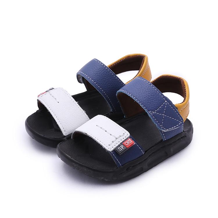 Лета 2016 года таким образом было что новая обувь сандалии и обувь для детей дети детские кожаные сандалии бум