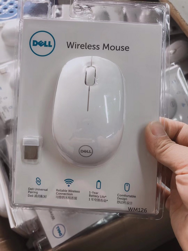 Custom Dell wm126 wireless mouse office laptop mouse