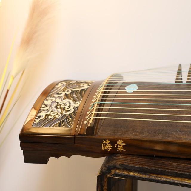 观涛玉面小嫣然同款海棠国乐挖筝专业考级演奏型全国巡演主款用琴
