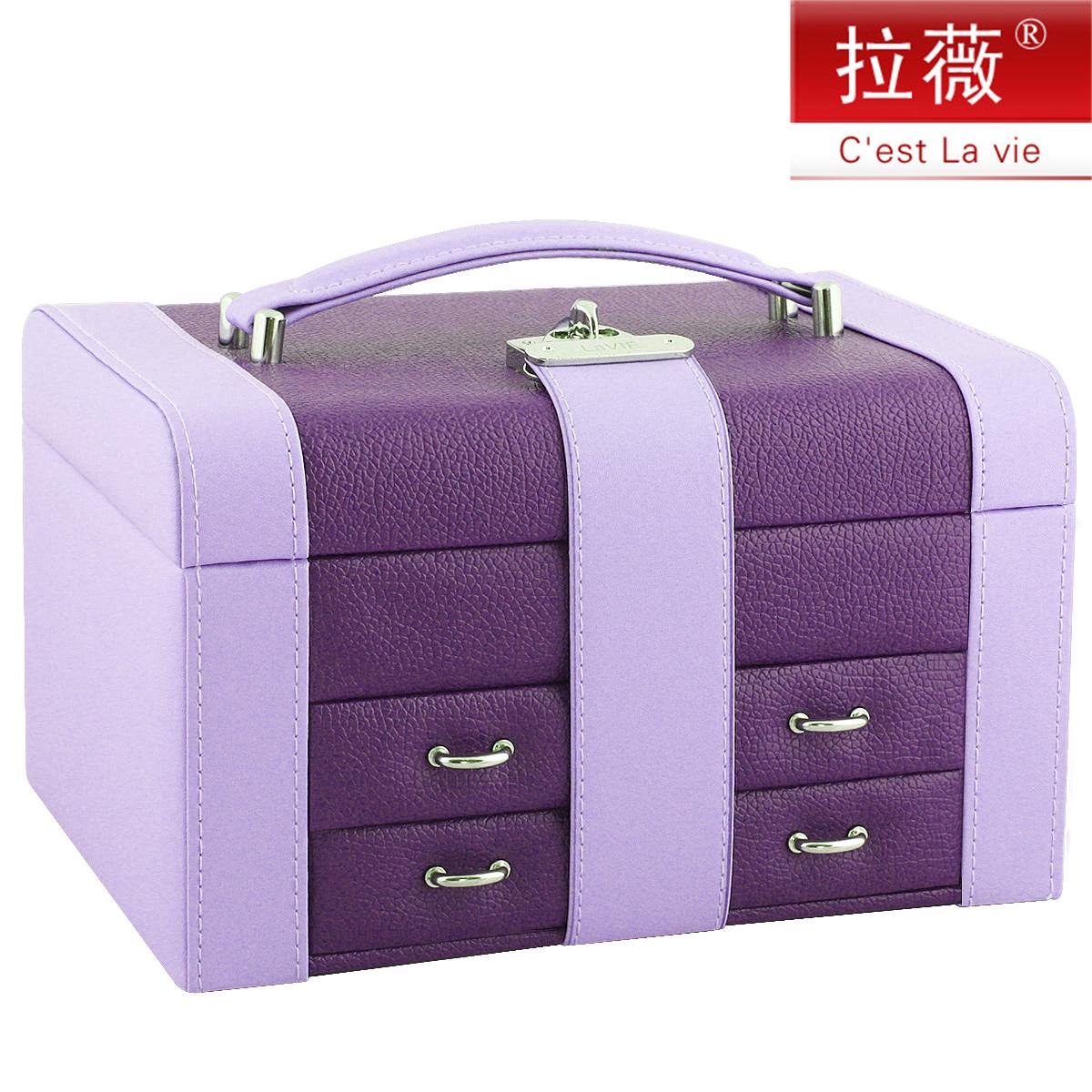 化�y盒 �品盒珠��箱首�盒 大小�p拼 �W式公主首�收�{盒