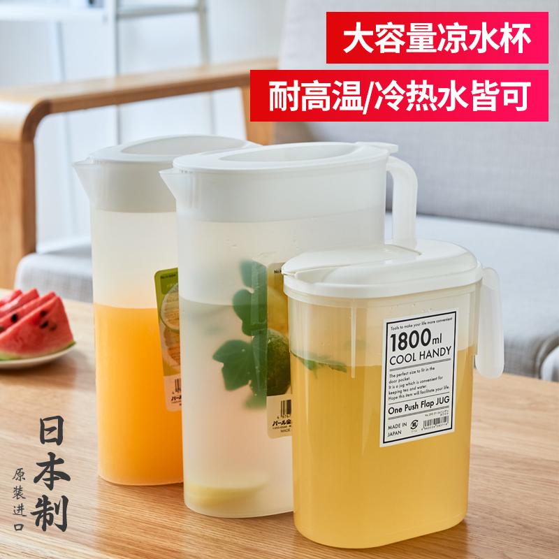 日本进口耐高温塑料家用耐热凉水壶