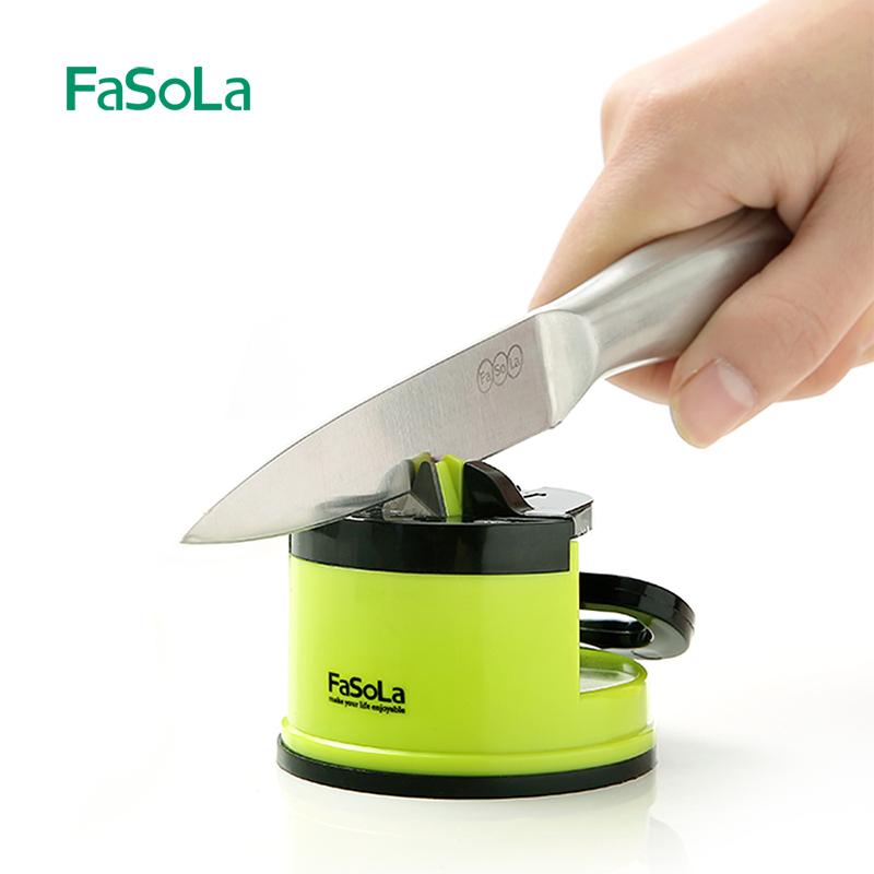 FaSola кухня фиксированный угловая шлифовальная машина каменный нож домой кухонные ножи братья устройство многофункциональный стали вольфрама быстро братья небольшой инструмент