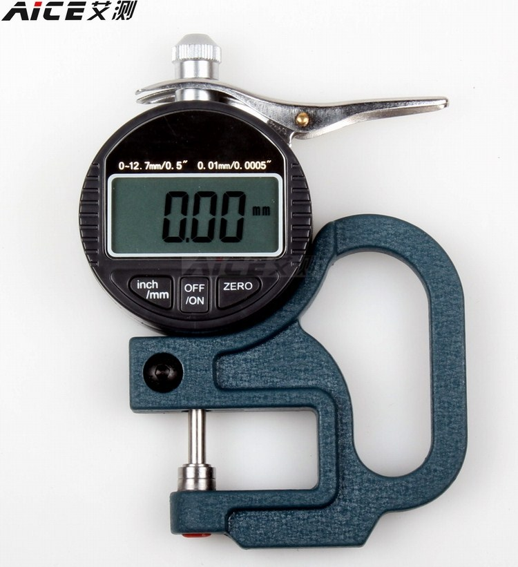 Цифровой процентов микрометр мера толстый регулирование / мера толстый инструмент / толщина считать 0-10mm/ бумага чжан фильм хлопок материал лента