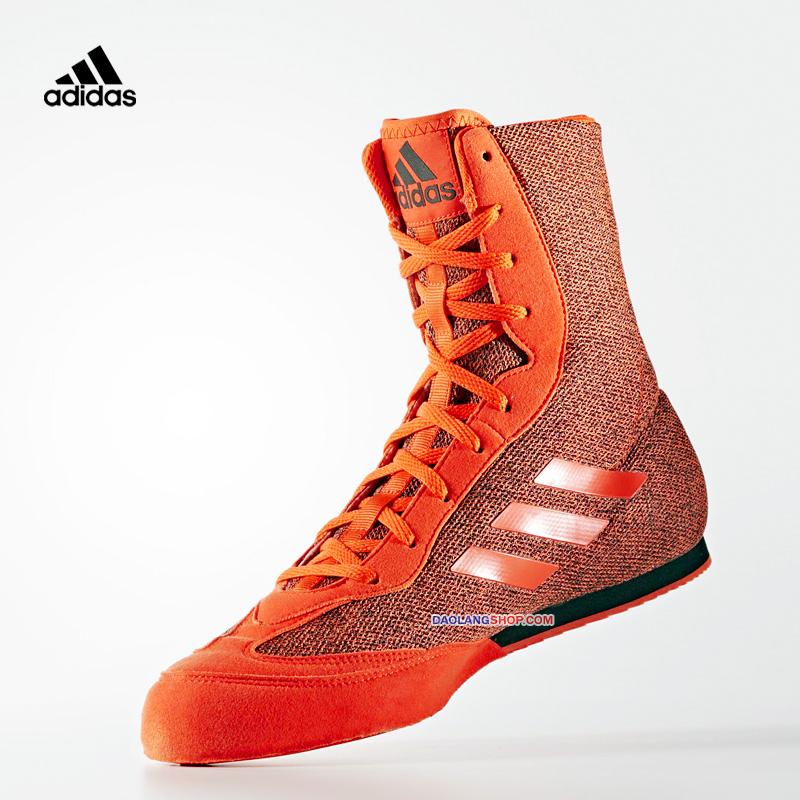 Adidas Adidas BOX HOG PLUS Боксерская обувь Ultralight воздухопроницаемый Защита от износа