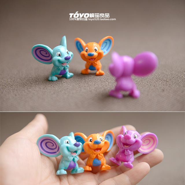 现货 猫和老鼠杰瑞卡通大耳朵鼠玩具萌萌哒可爱小号摆件模型