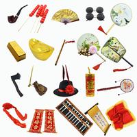 古装道具拍摄摆件影楼中国风摄影道具古装墨镜复古典婚纱拍照道具