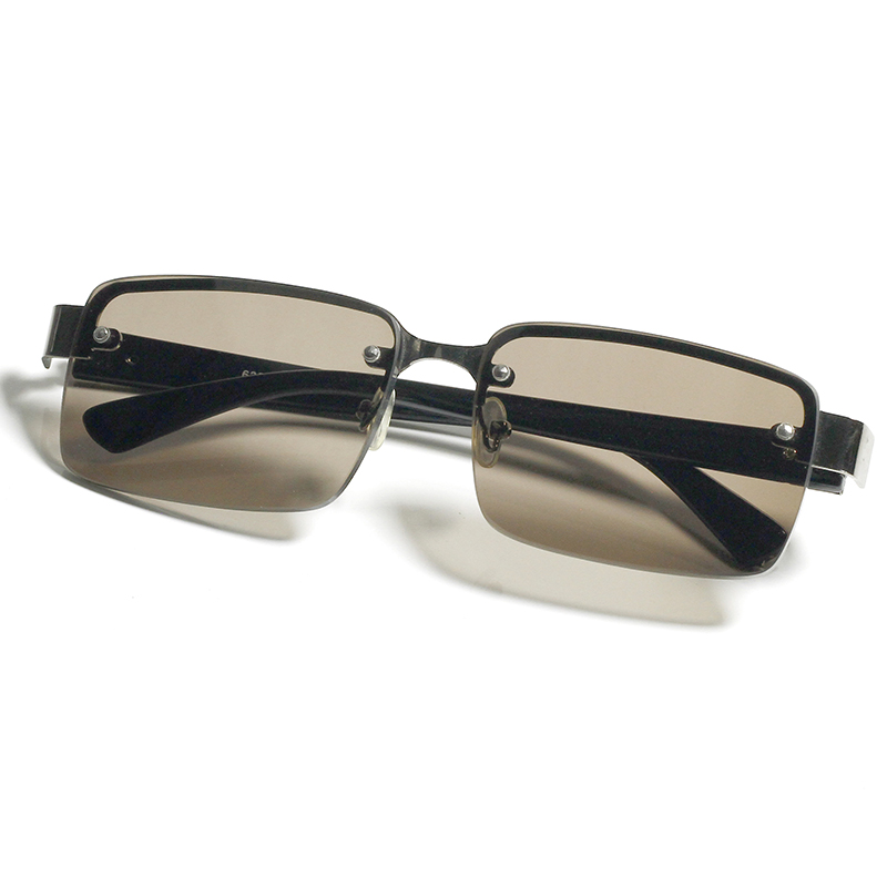 Pure natural crystal sunglasses middle aged and elderly frameless crystal sunglasses mens crystal goggles drivers driving glasses
