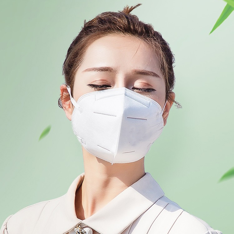 Kn95 respirator breathing valve breathable men and women disposable student protective mask thin summer package