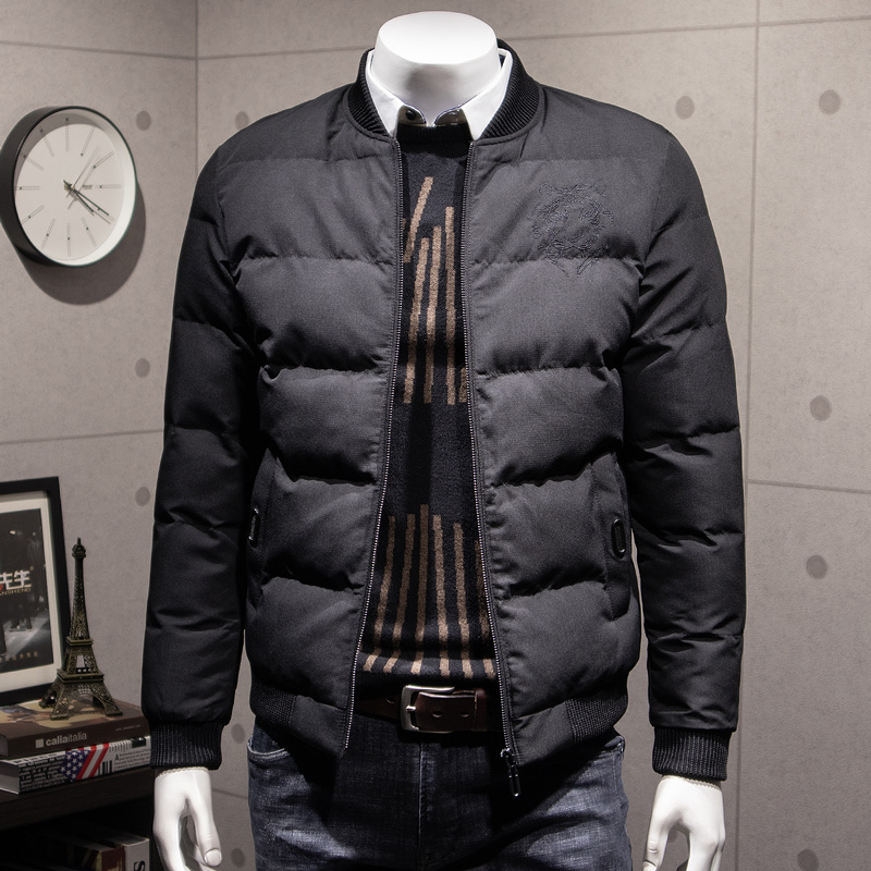 男士外套冬季2018新款个性潮流短款帅气棉衣面包服男韩版加厚棉袄