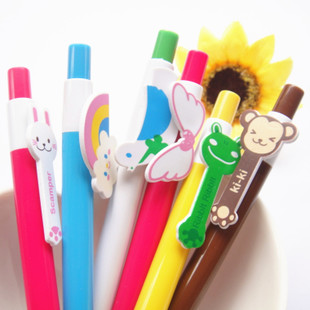 Cute cartoon ballpoint pen 0 5mm full 188 yuan a gift