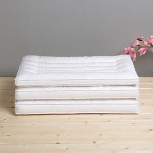 可水洗舒眠纯棉丝绒单人低安睡枕芯
