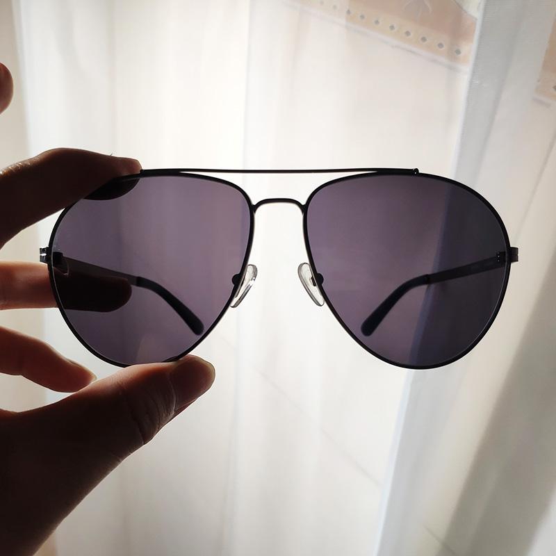 Big size Pilot Sunglasses, big face mens sunglasses, resin glasses, cycling is light and mature