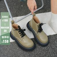 美丽鞋逅绿色踝靴第2名