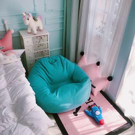 懒人沙发豆袋榻榻米单人小户型角落地上卧室阳台可爱女个休闲躺椅图片