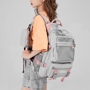 双肩包女韩版大容量轻便旅游旅行电脑背包大学生初中高中学生书包