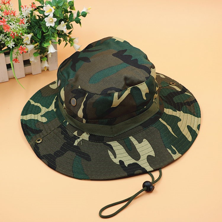 Camouflage flat top military cap men and women 07 tactical army accessories...