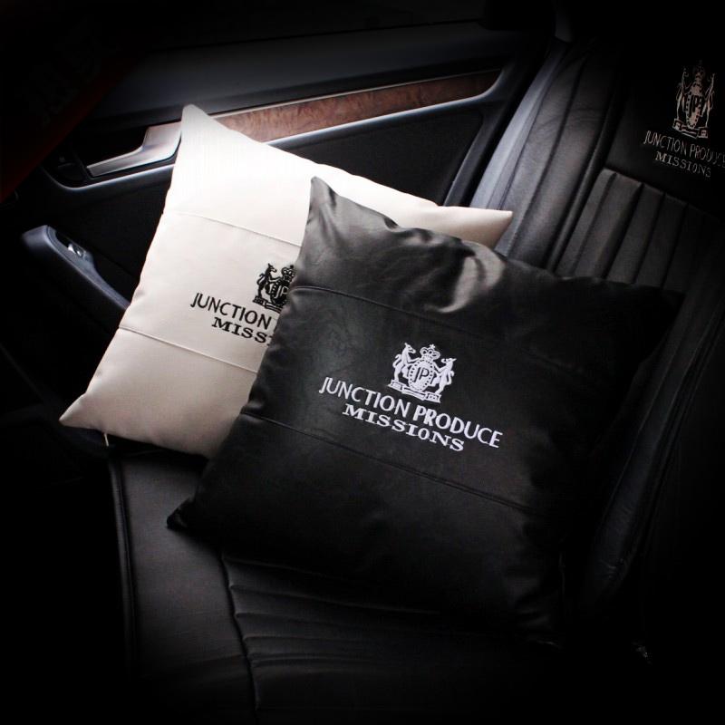 韓國汽車內飾用品四季 JP改裝車載車用車枕抱枕靠枕靠墊腰靠