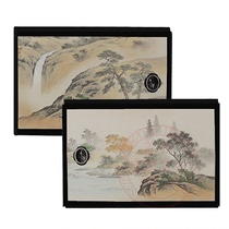 The Tang Dynasty and the wind Japanese bag of the bag pattern of the Fushma door small cabinet doors Japanese-style door belt belt painted doors