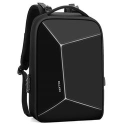 密码锁防盗背包笔记本电脑包双肩包男士极客书包硬壳防水时尚潮流