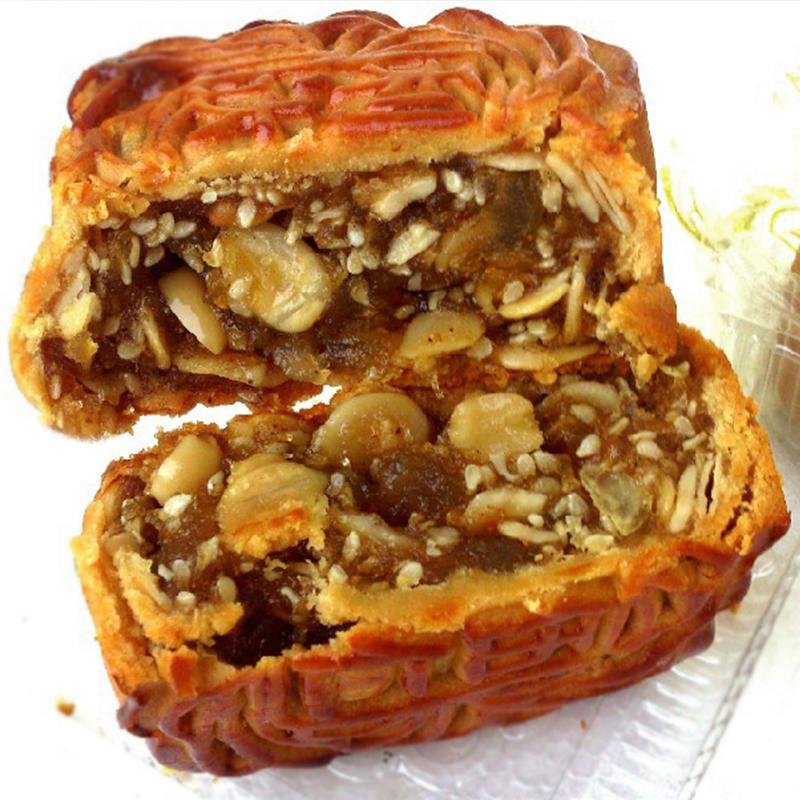 正宗高州加头五仁月饼广式特产糕点零食中秋老式月饼广东茂名月饼