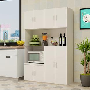 餐边柜现代简约多功能储物柜厨房橱柜餐厅碗柜微波炉柜置物茶水柜