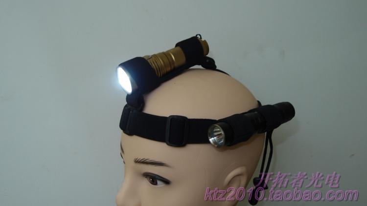 < новый > высокое качество фонарик заставка 18650 фонарик фара группа резинки