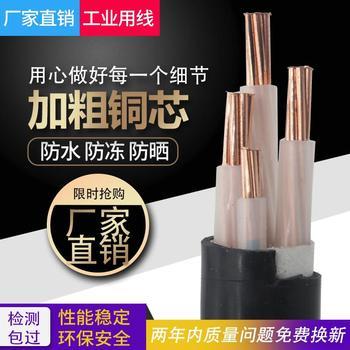 电力16铜芯yjv22 2 3 10平方25电缆