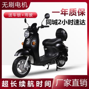 经典小龟王长跑王电动车60V踏板车电瓶车本地可上牌电动摩托车