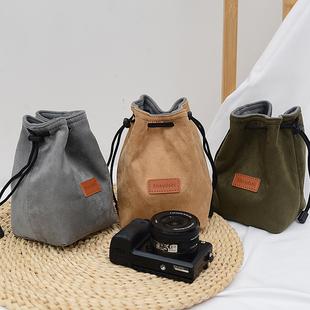 微单保护套单反内胆包尼康佳能索尼富士便携收纳袋镜头摄影相机包