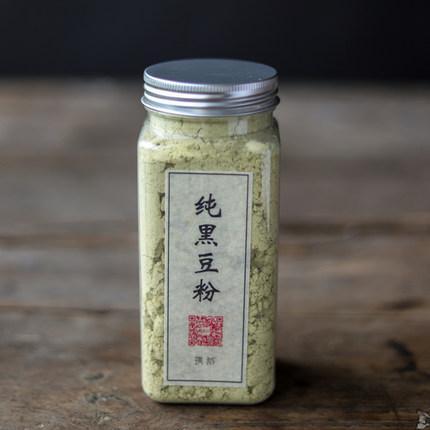 璞诉 纯黑豆粉备孕 熟绿心黑豆粉 非转基因 可搭黑芝麻核桃粉