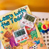 可爱创意迷你小闹钟网红学生做题记时器吃药提醒器厨房秒表定时器