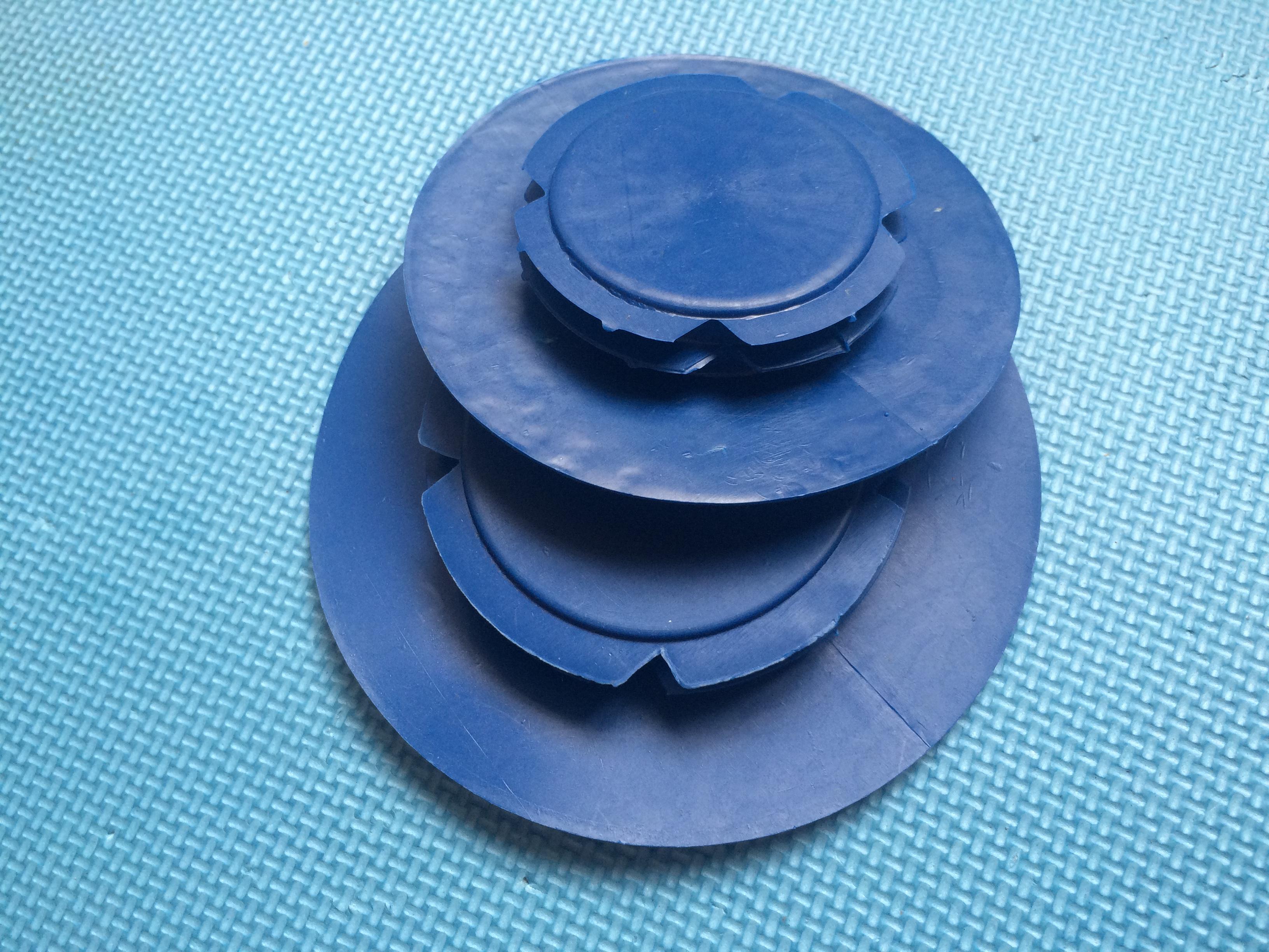 塑料法兰通用保护盖无孔盖堵盖宽边法兰盖阀门封盖堵盖端面保护盖