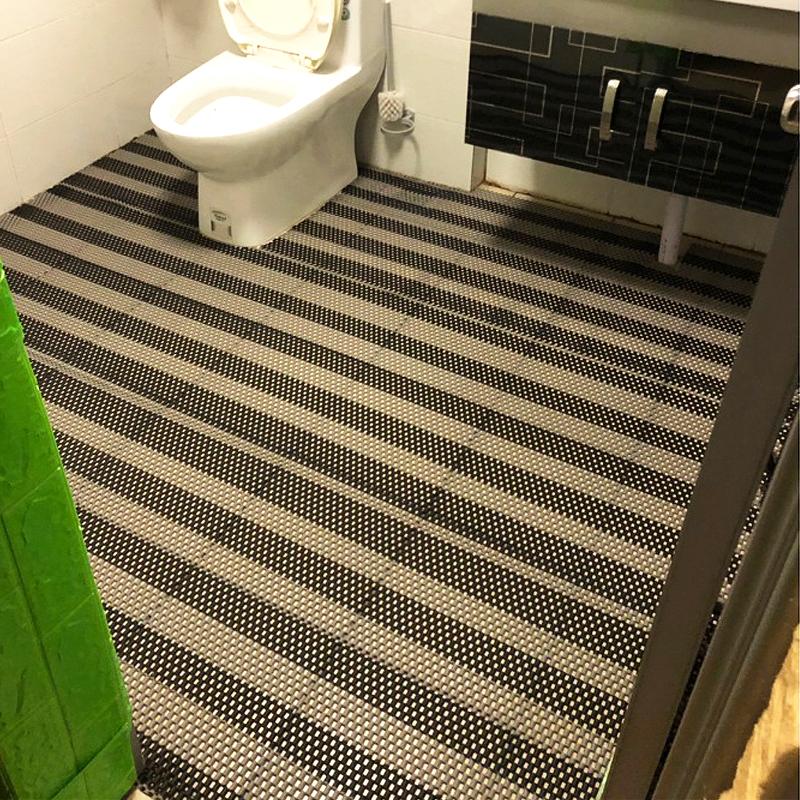 12月02日最新优惠浴室防滑垫淋浴垫子卫生间地垫洗澡防水pvc镂空塑料脚垫厕所满铺
