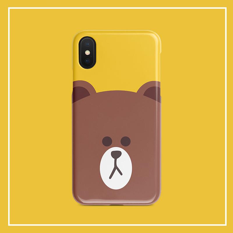 华为nova5pro手机壳女p30布朗熊vivo苹果xr小米oppofindx一