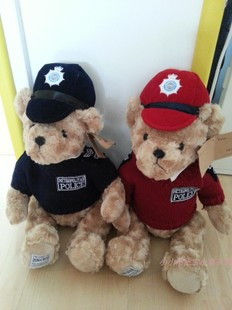Authentic London Police Teddy Bear Teddy Bear plush toy doll Royal Children s Day birthday gift